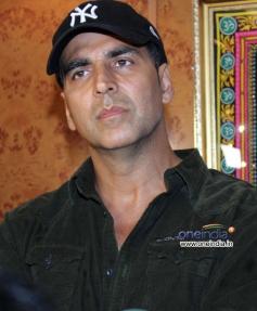 Akshay Kumar snapped at Gaiety Galaxy