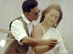 Akshay Kumar and Sonakshi Sinha in Movie Boss