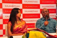 Amala Paul Inaugurates Kalanikethan Showroom Event
