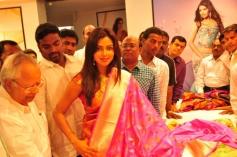 Amala Paul Inaugurates Kalanikethan Showroom Images