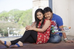 Amoolya and Ganesh in Kannada Movie Sravani Subramanya