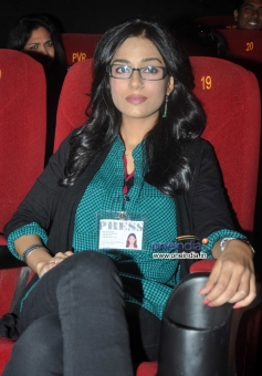Amrita Rao at music launch of film Singh Saab The Great
