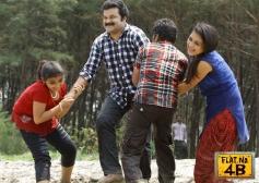 Baby Sandra, Riaz M T in Malayalam Movie Flat No. 4B