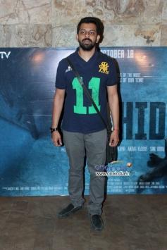 Bejoy Nambiar at Special screening of film Shahid