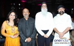 Bela Shende and Sameer at Music launch of film Rajjo