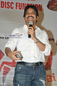 Nagarjuna at Bhai Triple Platinum Disc Function