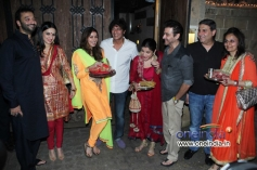 Bollywood celebrities at Anil Kapoor's Karva Chauth party