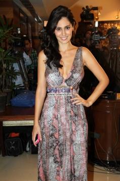 Bruna Abdullah arrive during the Success party of film Grand Masti