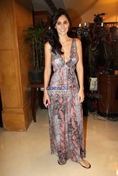 Bruna Abdullah at Success party of film Grand Masti