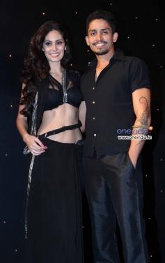Bruna Abdullah with boyfriend Omar Farooque at Star Plus Nach Baliye 6 press meet
