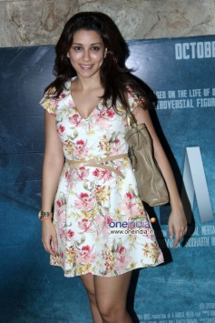 Celebs at Special screening of film Shahid