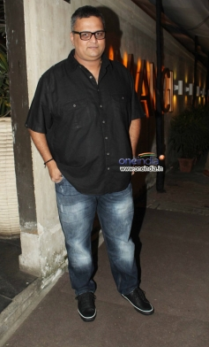 Celebs at the R Rajkumar film completion party