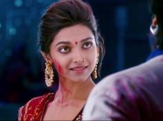 Deepika Padukone looking Ranveer Singh still from film Ram Leela
