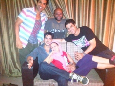Desi Magic starcast poses all together