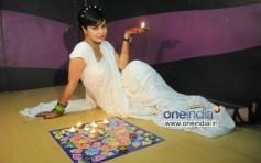 Diwali photo shoot of Kavitta Verma
