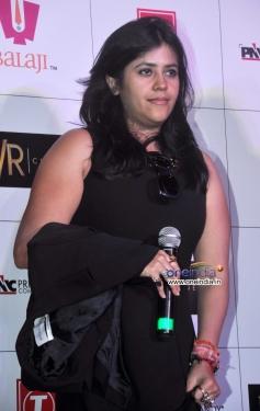 Ekta Kapoor at trailer launch of film Shaadi Ke Side Effects