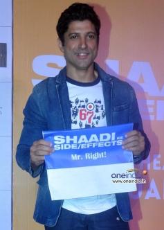 Farhan Akhtar at trailer launch of film Shaadi Ke Side Effects