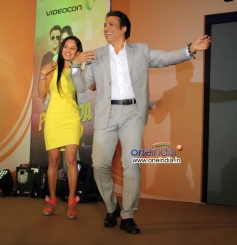 Govinda and Pooja Bose performance during the launch of music album Gori Tere Naina