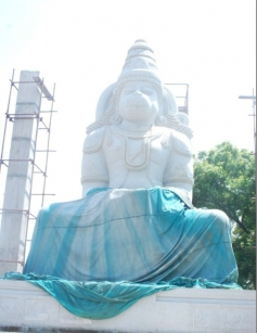 Hanuman Temple Built by Actor Arjun