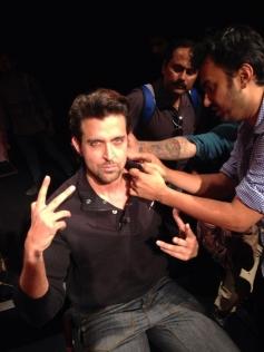 Hrithik Roshan gearing up for Krrish 3 promotion at New Delhi