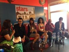 Hrithik Roshan, Priyanka Chopra and Kangna Ranaut at Krrish 3 film promotion in New Delhi