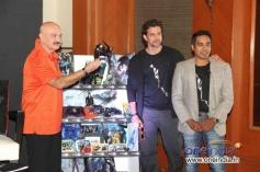 Hrithik Roshan and Rakesh Roshan unveils Krrish 3 Merchandise