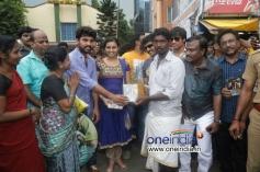 Jannal Oram to Audio Launch at Tambaram Bus Stop