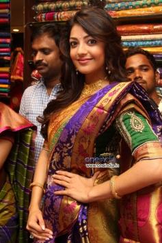 Kajal Aggarwal inaugrates Chennai shopping mall