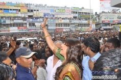 Kajal Aggarwal launches Chennai shopping mall