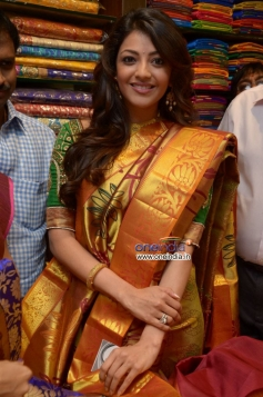 Kajal Aggarwal looks gorgeous at launch of Chennai shopping mall