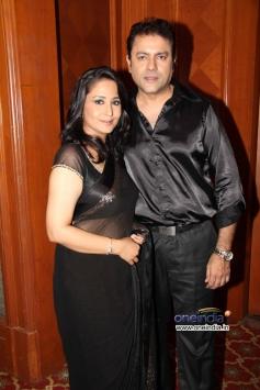 Kanika Maheshwari with husband Ankur Ghai at Star Plus Nach Baliye 6 press meet