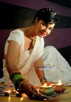Kavitta Verma Diwali photo shoot