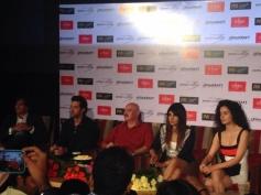 Krrish 3 film stars at New Delhi
