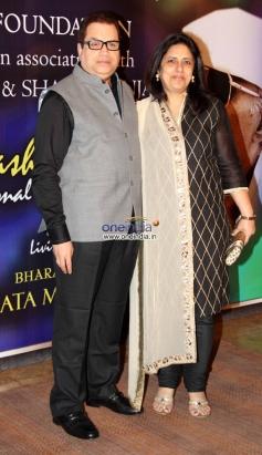 Kumar S. Taurani at Yash Chopra Memorial Awards 2013