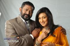 Lal and Rituparna Sengupta in Malayalam Movie Kadhaveedu