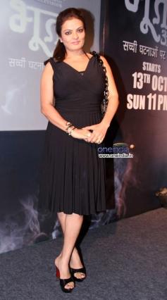 Filmmaker Akashdeep Sabir's wife Launch of Sony's new TV show Bhoot Aaya
