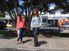 Madhuri Dixit poses at Auckland