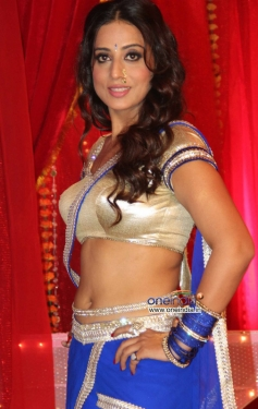 Mahie Gill during the wrap up shoot of film Gangs of Ghost