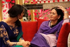 Mallika Sherawat conversation with her mother on the sets of The Bachelorette India tv show