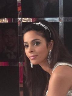 Mallika Sherawat on the sets of BacheloretteIndia