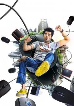 Manish Paul still from film Mickey Virus