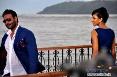 Miss Srilanka Chandi Perera Shot Big Ad With Ajay Devgan at Goa