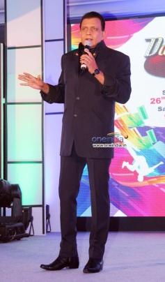 Mithun Chakraborty at Zee TV's Dance India Dance season 4 press meet