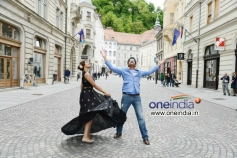 Nagarjuna and Richa Gangopadhyay in Bhai Movie