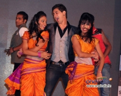 Paras Arora performs at the music launch of film Rajjo