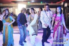 Prashant Narayan, Ashima Sharma and Shakti Kapoor performs at Mumbai Can Dance Saala on the sets