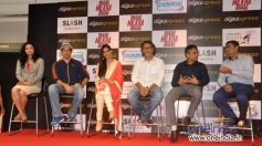 Press meet event during the DVD launch of film Bhaag Milkha Bhaag