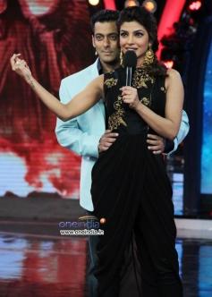 Priyanka Chopra on the sets of Salman Khan's tv show Bigg Boss 7