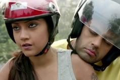 Puja Gupta and Manish Paul still from film Mickey Virus