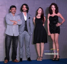 Ram Gopal Varma and his film Satya 2 starcast